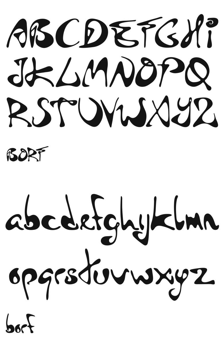 BORF Font