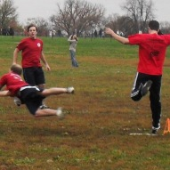Kickball- Dive and Safe at First