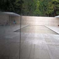 Mies Van Der Rohe Pavilion: Reflection