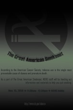 CDC Great American Smokeout poster 1