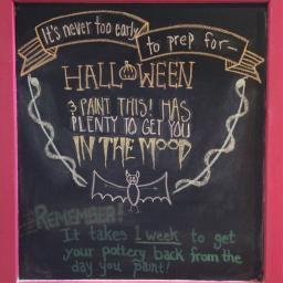 Prep for Halloween
