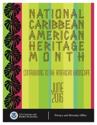 CBP National Caribbean American Heritage Month flyer