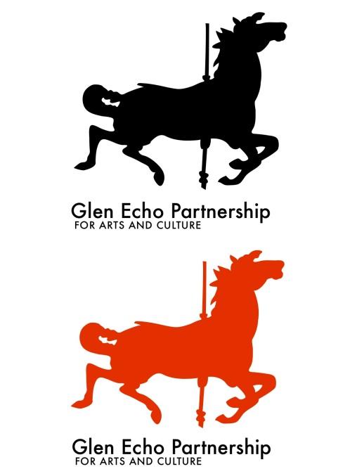 Glen Echo redesigned logos