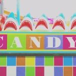 Candy Kitchen Window Display