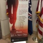CBP New Year lobby banner
