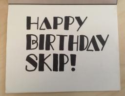 Skip's Birthday