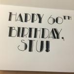 Stu's Birthday