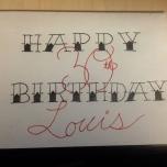 Louis' Birthday