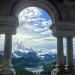 Looking Out At Neuschwanstein Castle, Germany