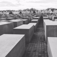 The Holocaust Memorial in Berlin
