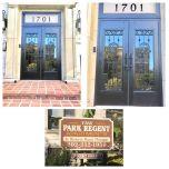 Park Regent Door Monograms