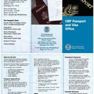 CBP Passport and Visa Brochure