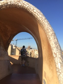 Gaudi Viewing, Barcelona