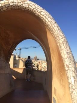 Gaudi Viewing, Barcelona