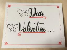 Dear Valentine...