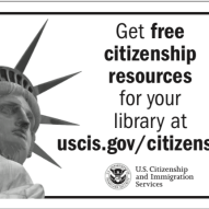 USCIS MD and DE Library Association Conference Ad.