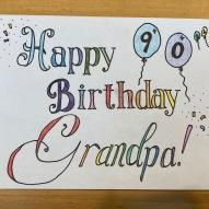 Happy 90'th Birthday Grandpa