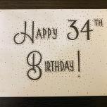 Happy 34th Birthday
